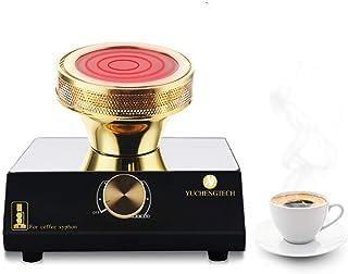 YUCHENGTECH Syphon kaffevärmare sifon grytvärmare sifon kaffemaskin med utbytbar glödlampa för sifongryta 220 V