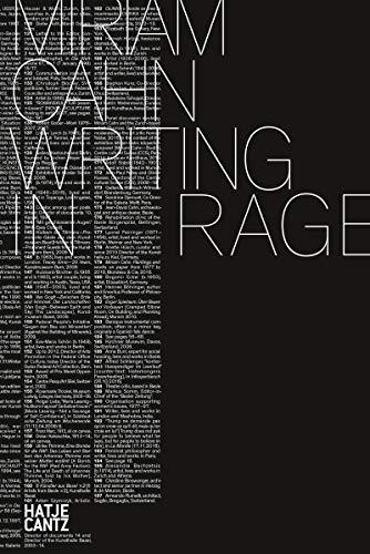 Miriam Cahn: WRITING IN RAGE (Zeitgenössische Kunst) (English Edition)