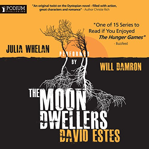 The Moon Dwellers audiobook cover art