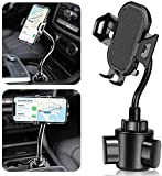 Cup Phone Holder for Car, Flexible Gooseneck Cup Holder Phone Mount Universal Adjustable Cupholder Compatible with iPhone 11 Pro XS Max XR X 8 7 6s 6 5s Samsung Galaxy S10 Plus S9 S8 S7 S6 Note 10 9 8