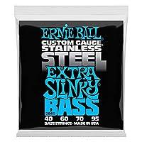【正規品】 ERNIE BALL 2845 ベース弦 (40-95) STAINLESS EXTRA SLINKY BASS ステンレス・エクストラ・スリンキー・ベース
