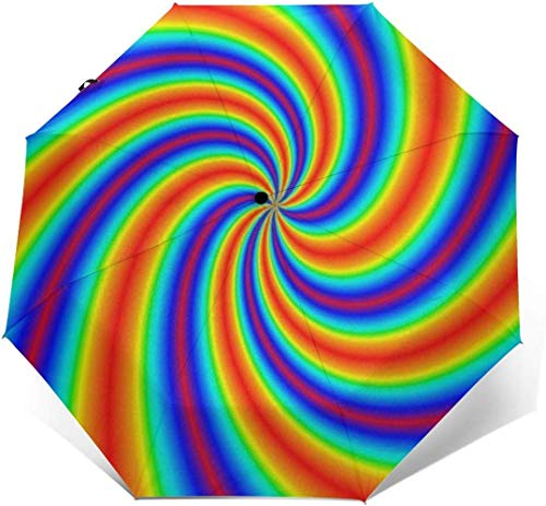 Why Should You Buy ALNANI Lightweight Portable Automatic Umbrellas 95% UV Protection - Tie Dye Outdo...