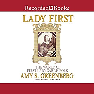 Lady First audiobook cover art