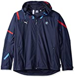 PUMA Men's BMW Motorsport Graphic Logo Woven Jacket, Team Blue, XL -