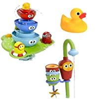 Yookidoo ユーキッド & Sassy サッシー お風呂のおもちゃセット1