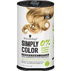 Schwarzkopf Simply Color Hair Color, 9.0 Light Blonde