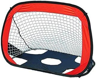 شبكة كرة قدم للأطفال قابلة للطي مزدوجة الاستخدام للاستخدام الداخلي والخارجي والتدريب على كرة القدم مع حقيبة