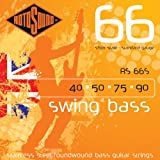 Rotosound Stainless Steel Standard Gauge Short Scale Roundwound Bass Strings (40 50 75 90)