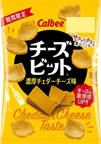 チーズビット 濃厚チェダーチーズ味 18g 24袋