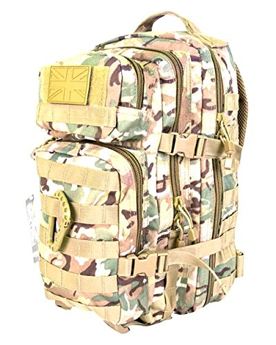 Zip Zap Zooom Army Military Tactical Combat Rucksack Backpack Bergen Molle Pack Bag All Terrain 28L by Zip Zap Zooom
