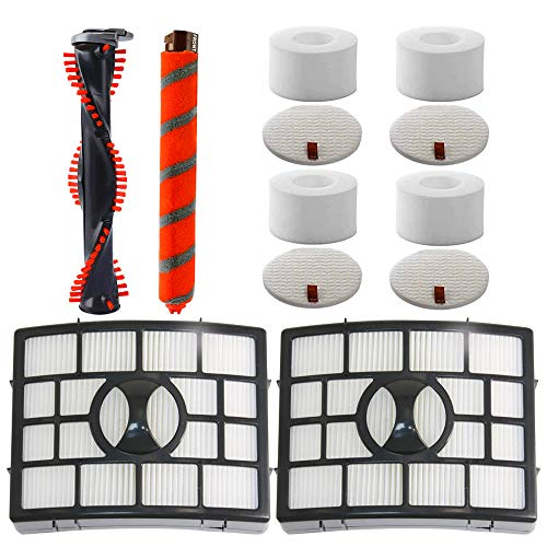 Great Features Of Carkio Replacement Filters Brush Roll Kit Compatible with Shark NV800 NV800W NV801...