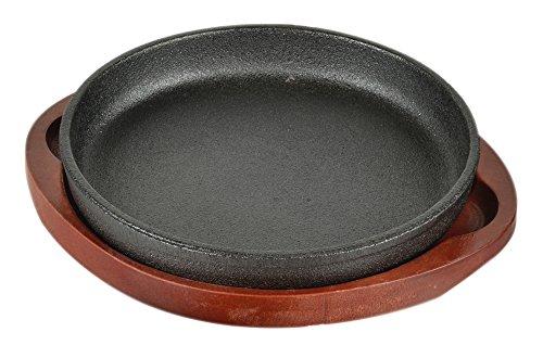 パール金属『ステーキ皿 鉄鋳物製 丸型16cm』