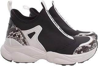Michael Kors Sneakers Donna 43T0WLFP2D Willow Blk Tessuto Pelle