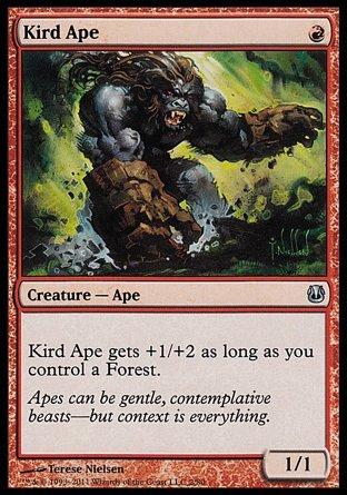 Magic The Gathering - Kird Ape - Duel Decks: Ajani vs Nicol Bolas by