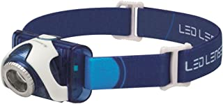 LED Lenser SEO7 Rechargeable Head Torch (Blue)