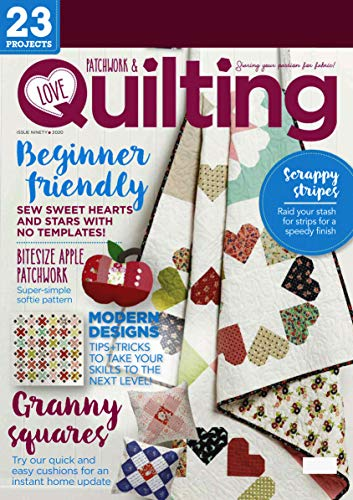 Magazine ilove Patchwork & Quilting 23 Projects - 2020: (PDF) Form (English Edition)