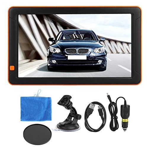 Gorgeri Draagbare navigator, 9 inch, FM + 8G + DDR256M, universeel, voor auto, vrachtwagen, voetgangers, fiets, ziekenwagen, bus, taxi en meer