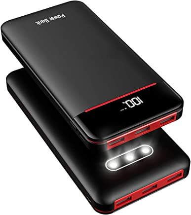 Power Bank 25000mAh Portable Charger Battery Pack with 3...