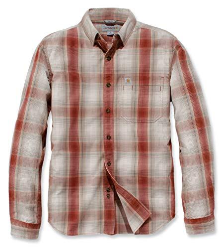 Carhartt Essential Plaid Hemd Rot M