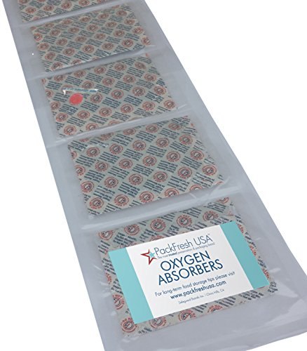 2000cc Oxygen Absorbers Individually-Sealed for Long Term...