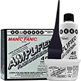 Manic Panic Flash Lightning Hair Bleach Kit - 40 Volume Cream Developer - Hair Lightener Kit for Light, Medium Or Dark Brown & Black Hair Color - Hair Bleach Powder Lifts up to 7 Levels of Lightening