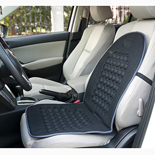 Leaftree Funda de Asiento de automóvil Cojín-Burbuja magnética Masaje ultraconfort-Universal Funda de Silla de camión SUV para automóvil Universal
