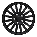 Pilot Automotive WH521-14C-B All Black 14' Indy Wheel Cover, (Set of 4)