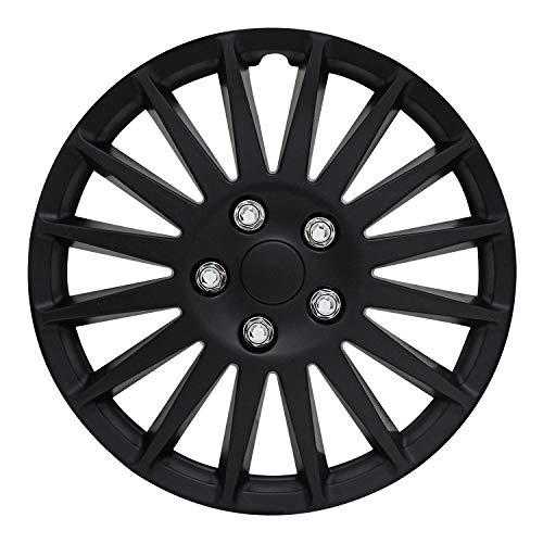 Pilot Automotive WH521-16C-B All Black Indy Wheel Cover, (Set of 4)