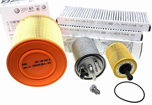 Original Audi Teile A6 4F C6 2.0L TDI Motor Inspektionspaket Filter Paket Service 5-teilig