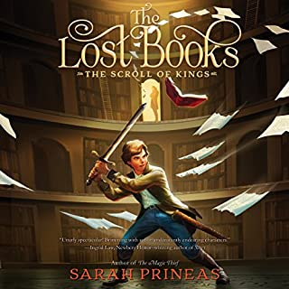 The Lost Books: The Scroll of Kings audiobook cover art