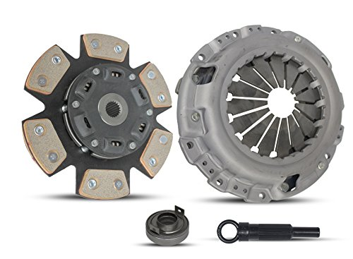 Clutch Kit works with Chrysler Sebring Dodge Stratus Mitsubishi Eclipse Lx Spyder 1990-2005 2.4L L4 GAS SOHC Naturally Aspirated (Select Engineered Flywheel Spec: -0.61; 6-Puck Disc Stage 2) Eagle Talon Spec Clutch