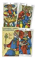 Universal Tarot Of Marseille / Tarot Universal Marseille: 22 Major Arcana, 56 Minor Arcana / 22 Arcanos Mayores, 56 Arcanos Menores