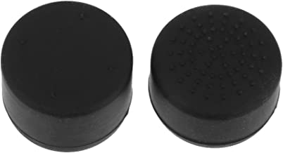 KESOTO 2x Joystick Thumb Grip Caps Cover Extender For Sony PS4 Controller Black