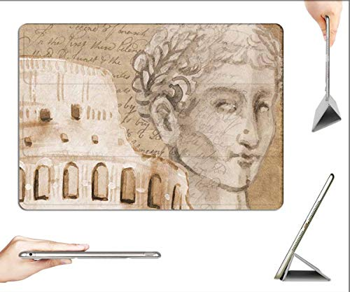 Case for iPad Pro 12.9 inch 2020 & 2018 - Colosseum Rome Caesar Background Italy Europe 1