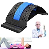 Lumbar Relief Back Stretcher, Back Stretching Device, Multi-Level Back Massager Pain Relie...