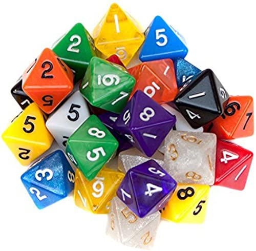 Más asequible Random D8 D8 D8 Polyhedral Dice in Multiple Colors By Wiz Dice by Wiz Dice  de moda