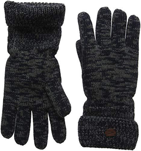 camel active Herren 408300/8G30 Handschuhe, Blau (Blue/Grey 47), Large