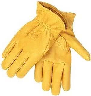 Revco H17 Men's Premium Grain Elkskin Driving Gloves Elkskin Grain