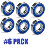 6 Pack J Thomas Lawn Mower Spindle Bearing JT-9827 17mm X 40mm X 12mm
