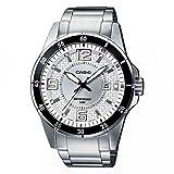 Casio Collection Reloj Analógico para Hombre de Cuarzo con Correa en Acero Inoxidable MTP-1291D-7AVEF