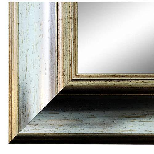 Online Galerie Bingold Spiegel Wandspiegel Silber 60 x 80 cm - Antik, Barock, Vintage - Alle Größen - Massiv - Holz - AM - Acta 6,7