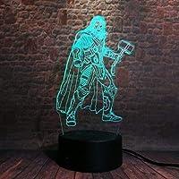 giyiohok 3Dランプタッチセンサーベッドサイド装飾用可視光効果LEDナイトライトランプ雰囲気-B8-B12