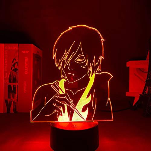 Regalos para las mujeres 3D luz anime avatar el último gas Zuke luz decoración del hogar regalo de cumpleaños LED noche luz erjie