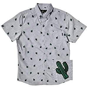 Men's Button up Slim Fit Hawaiian Short Sleeve Shirts