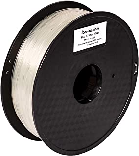 Pxmalion PLA 3D Printer Filament, Clear, 1.75mm, Accuracy +/- 0.03mm, Net Weight 1KG(2.2LB)