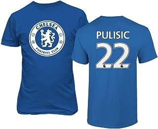 TURXIN New Chelsea Soccer Shirt Christian PULISIC #22 Men's T-Shirt