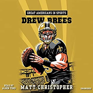 Great Americans in Sports: Drew Brees audiobook cover art