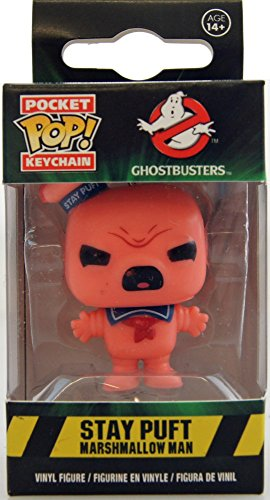 Funko 10606-pdq–Porte-clés de Angry Stay Puft Ghostbuster