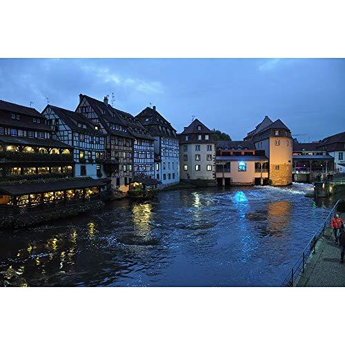 Jigsaw Puzzle for Adulti Bambini Strasburgo di Gioco for I Regali di Decorazione della Casa di Viaggio Souvenir 500/1000/1500/2000/3000/4000/5000/6000 Pezzi 0804 (Size : 6000 Pieces)