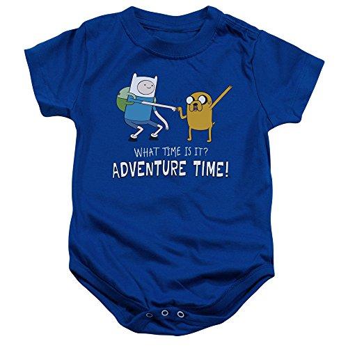 Adventure Time - - Poing Bump Onesie pour Tout-Petit, 24 Months, Royal Blue
